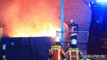 Nächtlicher Brand bei Supermarkt in Wolgast - Nordkurier