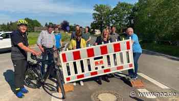Radweg an der L87 zwischen Bissendorf-Wulften und Belm eröffnet - noz.de - Neue Osnabrücker Zeitung