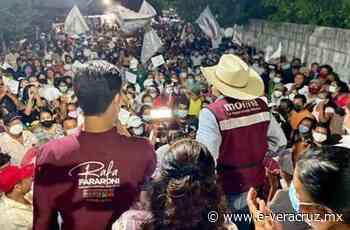 Cierre de campaña de Fararoni: con buena respuesta en Hueyapan y Catemaco - e-veracruz