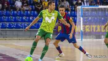 El Movistar vuelve a someter al Barça y asalta el Palau - AS