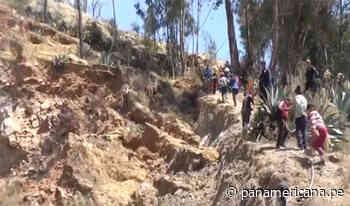 Áncash: pobladores de Yauya en peligro por falla geológica - Panamericana Televisión