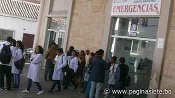 Médicos del Hospital Santa Bárbara en Sucre se replegarán el viernes por falta de pagos - Pagina Siete
