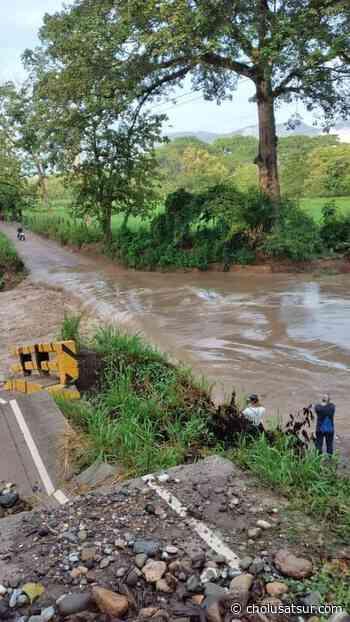Lluvias dejan incomunicados los departamentos de Santa Bárbara y Cortés - cholusatsur.com