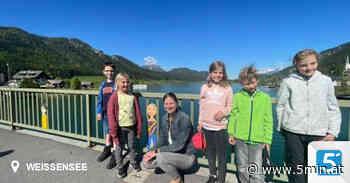 Brücken verbinden – Verschönerung des Brückengeländers am Weissensee - 5 Minuten