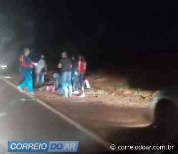 Ciclista atropelado próximo a pedreira de Maripá morre no hospital - Correio do Ar