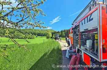 Helmershausen - Hydraulikflüssigkeit ausgelaufen - inSüdthüringen