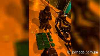 Decomisan doce kilos de cocaína en Ayna - Jornada