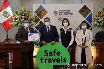 Huacas de Moche y Mural Artístico UNT reciben sello Safe Travels - Siente Trujillo
