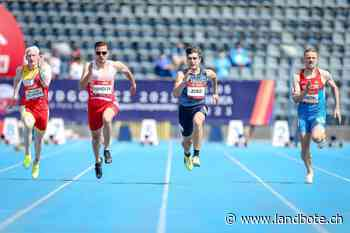 Behindertensport: Erfolg an der EM – Philipp Handler sprintet stark für sein Ticket nach Tokio - Der Landbote