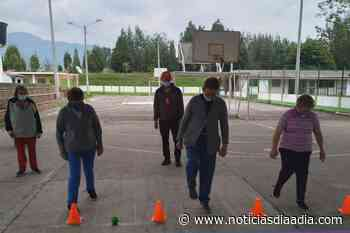 Adultos mayores se conectan con la actividad física en Tabio, Cundinamarca - Noticias Día a Día