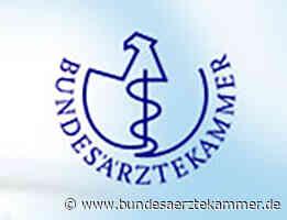 Berlin: Prof. Dr. med. Stefan Müller-Lissner mit Ernst-von-Bergmann-Plakette ausgezeichnet