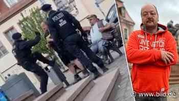 Attacke in Wurzen: Mich hat der Prügel-Polizist in den Bauch getreten | Regional - BILD