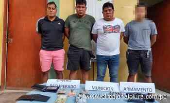 Talara: Policía Nacional desarticuló presunta banda de asaltantes - El Regional