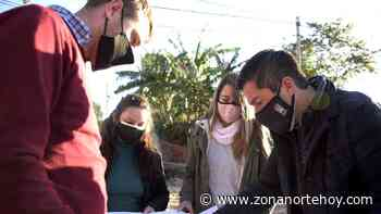 Pavimentan las calles Paracas y Combate de San Lorenzo de Grand Bourg - zonanortehoy.com