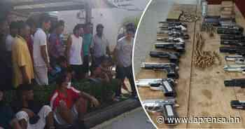 Policía frustra supuesto amotinamiento en cárcel de Támara - La Prensa de Honduras