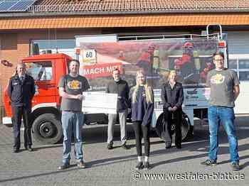 Rallye-Team der Feuerwehr Borchen erzielt 1100 Euro Spendengeld für die Jugendfeuerwehr: Mit dem Oldtimer quer durch Deutschland - Westfalen-Blatt