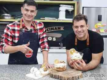 Cocinan Dos: secretos para hacer merengues perfectos y armar un Postre Balcarce - eldoce