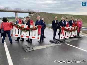 Neue Bundesstraße 211 freigegeben: Jetzt kann der Verkehr durch die Wesermarsch rollen - Nordwest-Zeitung