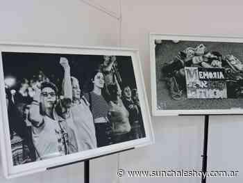 Concejo: Exhiben fotografías de Rosina Almeida sobre la lucha del movimiento Ni Una Menos - Sunchales Hoy
