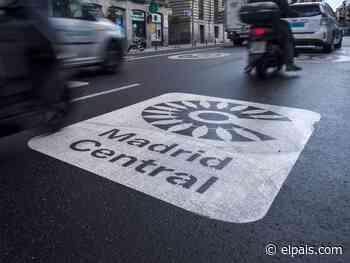 Almeida borra el nombre de Madrid Central de las calles por 185.000 euros - EL PAÍS