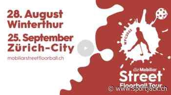 Auftakt zur Mobiliar Street Floorball Tour in Winterthur - sportjack.ch