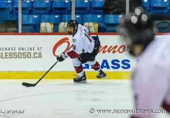 Rankin Inlet hockey player signs with Bradford Rattlers Jr. A team in Ontario - NUNAVUT NEWS - Nunavut News