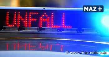 Kreuz Oranienburg: Unfall im Berufsverkehr auf der A10 - Märkische Allgemeine Zeitung