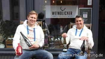 Quereinsteiger aus Vallendar: Ladenbesitzer kreieren eigenen Wein - Koblenz & Region - Rhein-Zeitung