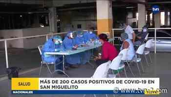 San Miguelito mantiene más de 500 casos activos por la COVID-19 - TVN Panamá