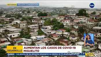 Autoridades de Salud en San Miguelito analizan estrategias por alta tasa de contagios - TVN Noticias