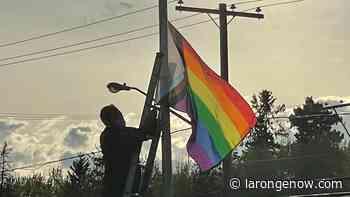 Pride Month begins in La Ronge with rainbow flag raising - larongeNOW