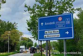 Oprit 26 snelweg E34 dicht voor aanleg van nieuw wegdek