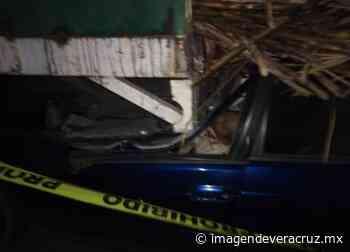 Muere pareja tras choque en Paso del Macho - Imagen de Veracruz