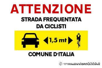 """""""Io rispetto il ciclista"""", il Comune di Guastalla aderisce alla campagna di sensibilizzazione - Modena 2000"""