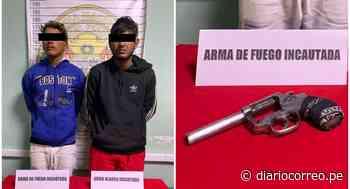 Caen dos extranjeros con arma de fuego en Chepén - Diario Correo