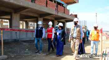 La Libertad: reconstrucción de colegio de Chepén tiene un avance del 60% LRND - LaRepública.pe