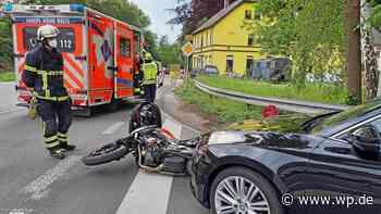 Feuerwehr Herdecke: Unfall in Gedern mit einer Verletzten - Westfalenpost