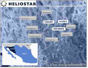 Heliostar Metals descubre nuevas vetas en proyecto Oso Negro en México - Dossier Político