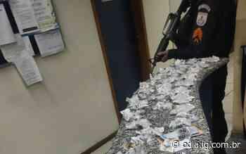 Miracema: Dupla é presa por tráfico após fugir da abordagem e perder o controle da moto - Jornal O Dia