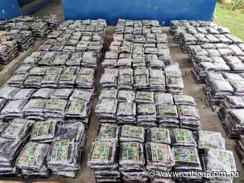 Decomisan tres toneladas de cocaína al Sur de Punta Burica en Chiriquí - Crítica Panamá