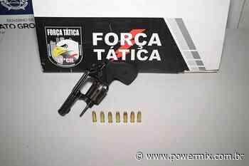 Força Tática prende homem com arma de fogo em Nova Mutum/MT - Power Mix