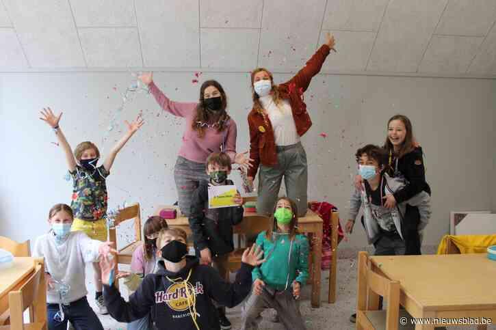 School zet leerlingenraad in de confetti