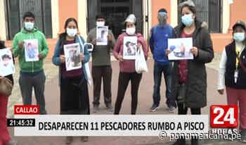 Callao: desaparecen 11 pescadores que se dirigían a Pisco - Panamericana Televisión