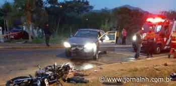 Acidente entre carro e moto deixa um morto em Igrejinha - Jornal NH