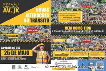 Obra de duplicação da PR-412 vai alterar trânsito em Matinhos - Jornal da Fronteira