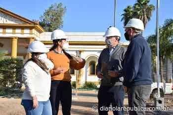 Avanzan con obras de mejoras en el cementerio San Juan Bautista - Diario La República