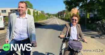 Minister en burgemeester trappen Limburgse fietsrelance af in As - VRT NWS