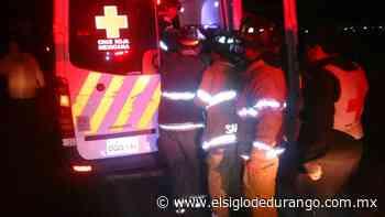 Ubican a un hombre desaparecido en Pueblo Nuevo; fue atropellado - El Siglo Durango