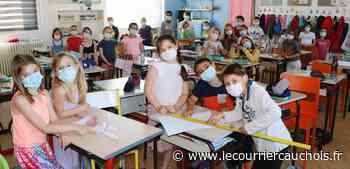 Ecole Lillebonne. Des expériences en classe comme Thomas Pesquet - Le Courrier Cauchois