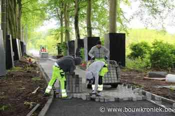 Aanleg eerste waterbalansweg in stad Damme - Bouwkroniek